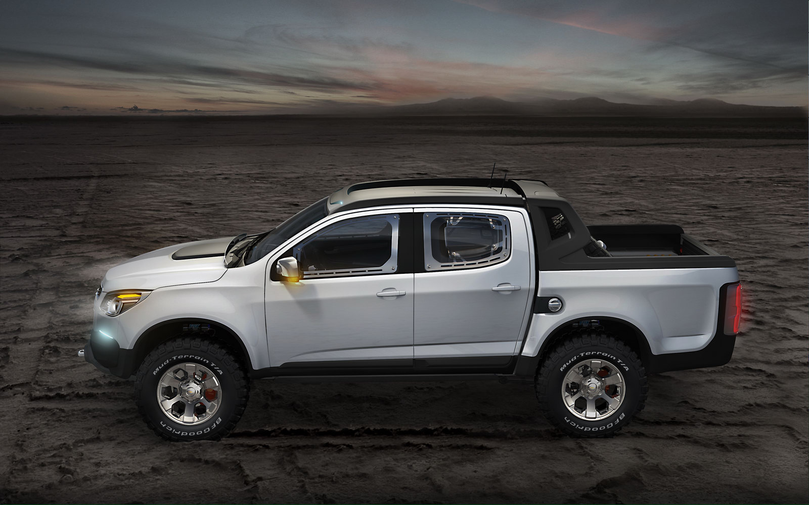 new chevrolet colorado rally concept is rough and ready autoevolution. Black Bedroom Furniture Sets. Home Design Ideas