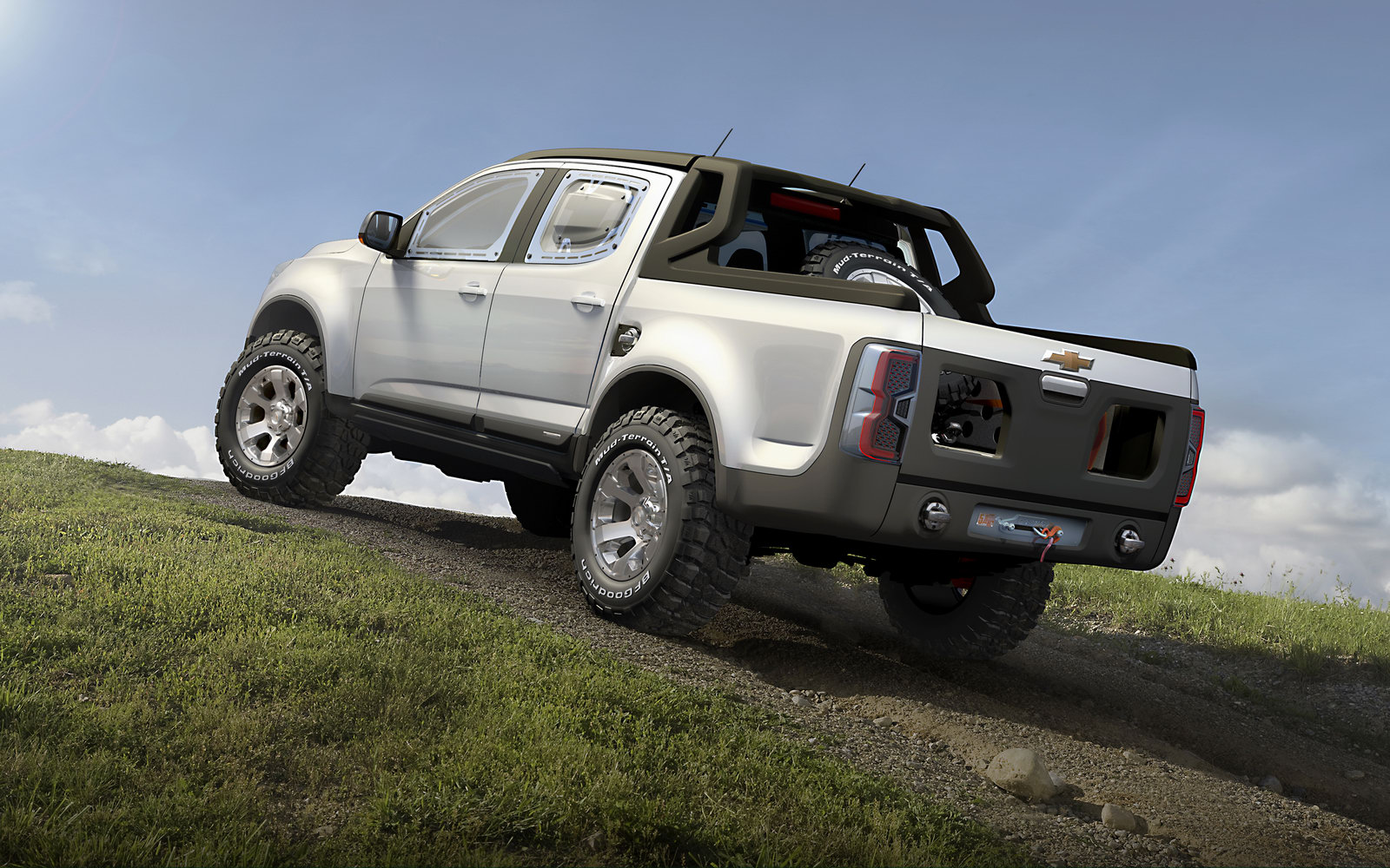 New Chevrolet Colorado Rally Concept Is Rough and Ready ...