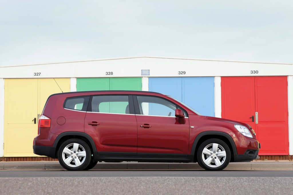 New Chevrolet Orlando Mpv Ready To Conquer Europe Gallery
