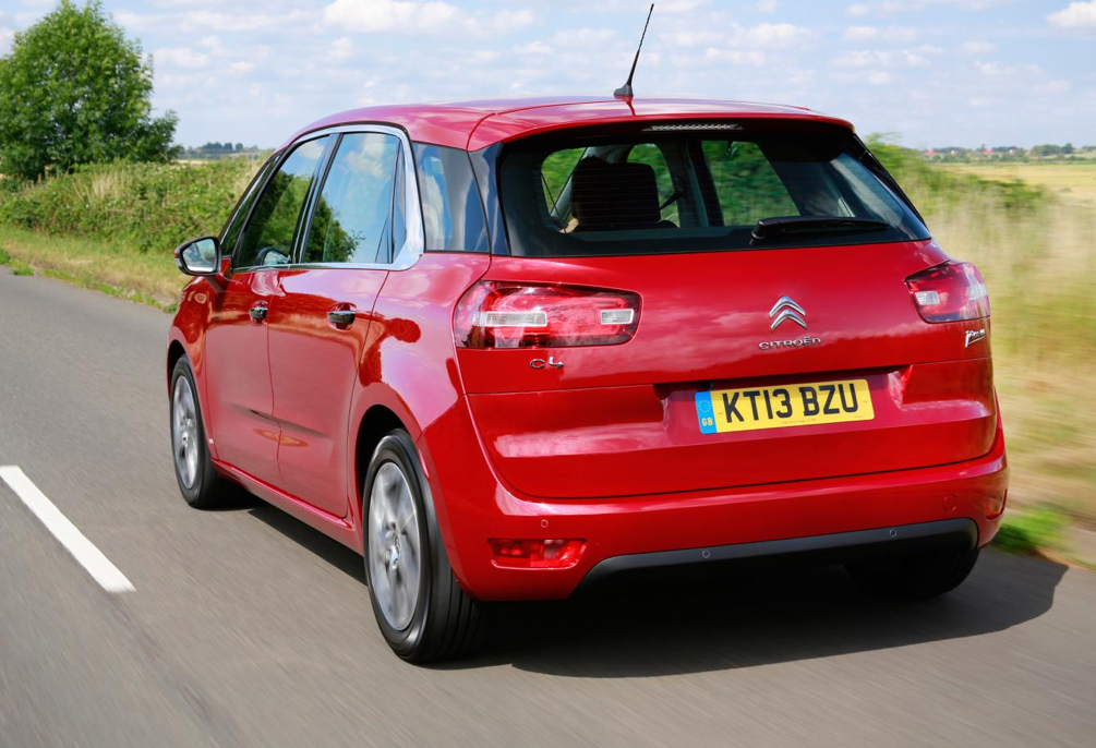 new citroen c4 picasso uk pricing revealed autoevolution. Black Bedroom Furniture Sets. Home Design Ideas