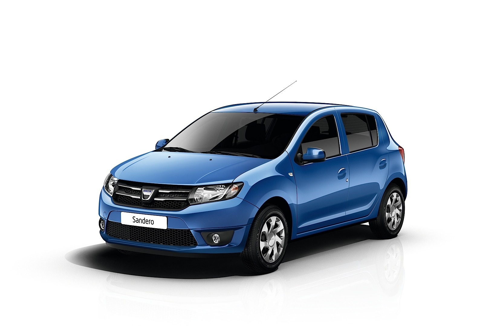 new dacia logan and sandero photos become official. Black Bedroom Furniture Sets. Home Design Ideas