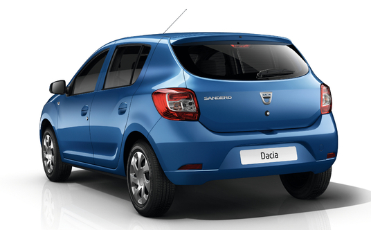 New Dacia Sandero II Photos Interior Gets 7 Inch Display