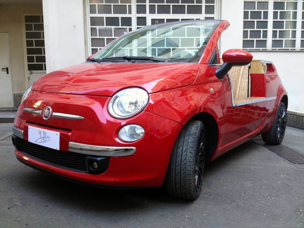 New Fiat 500 Jolly is Not Exactly Cheap, But It's ...