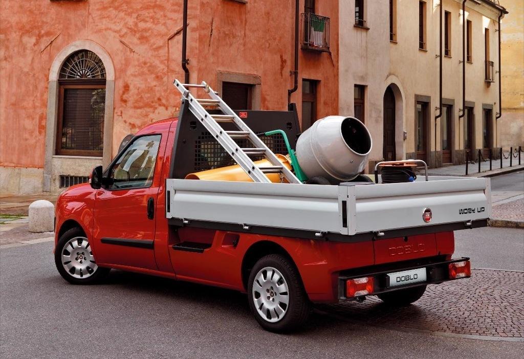 New fiat doblo work up unveiled autoevolution