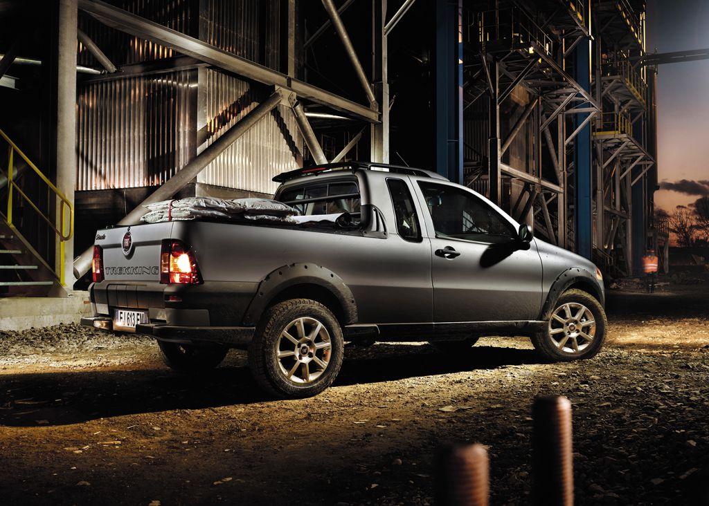 New Fiat Strada Pickup In Italy Photo Gallery