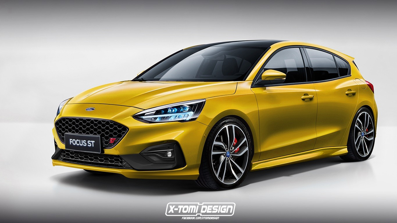 New Ford Focus Rs Rendered Focus St Also Looks Mighty Good