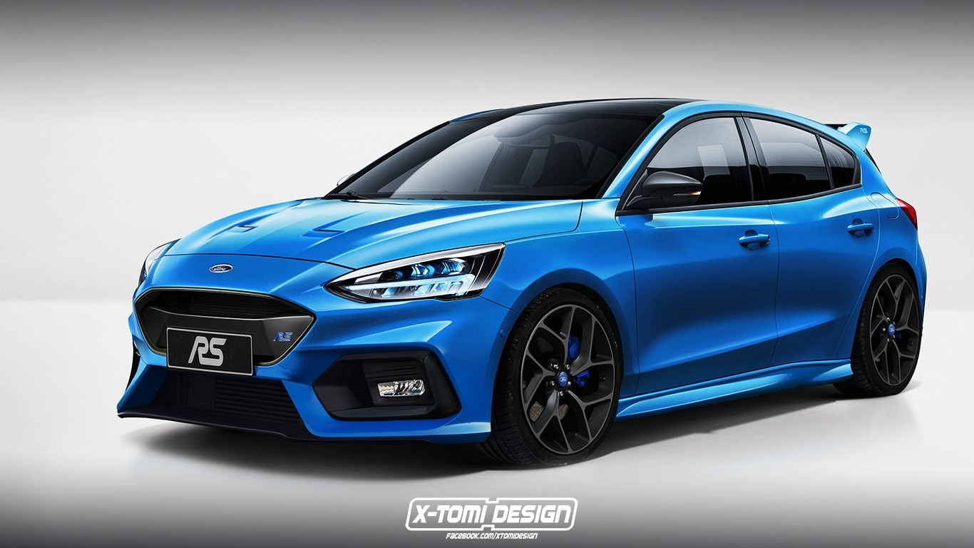 new ford focus rs rendered focus st also looks mighty good autoevolution. Black Bedroom Furniture Sets. Home Design Ideas