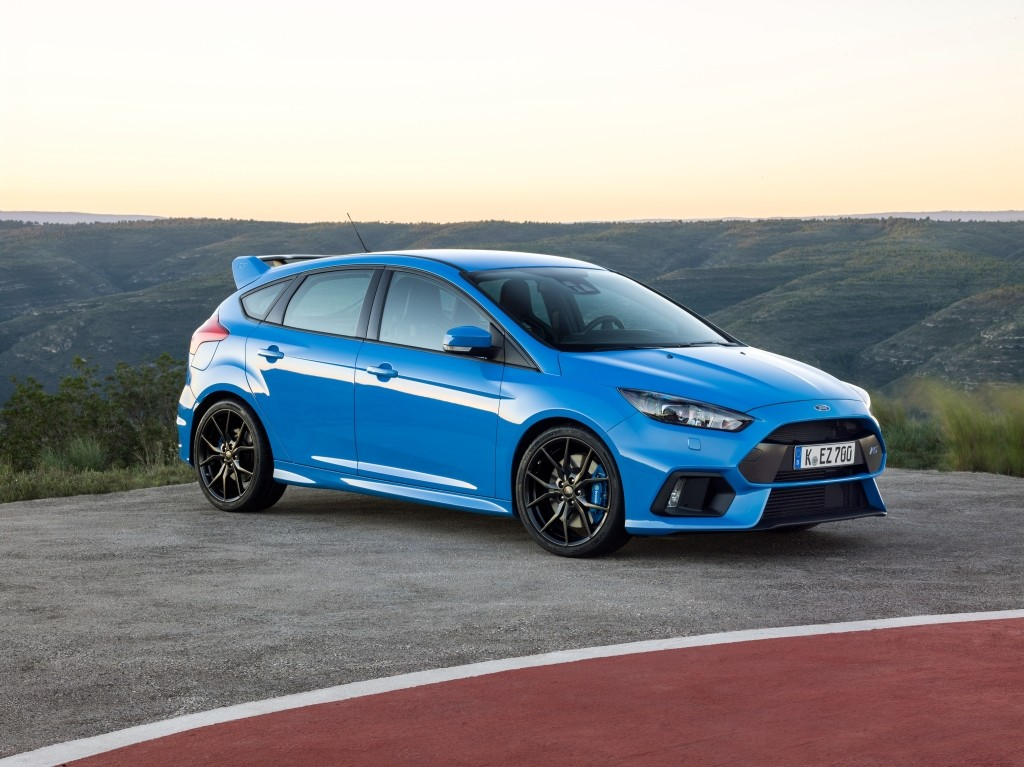 New Ford Focus Rs Rumored To Arrive In 2020 With 400 Ps Mild Hybrid