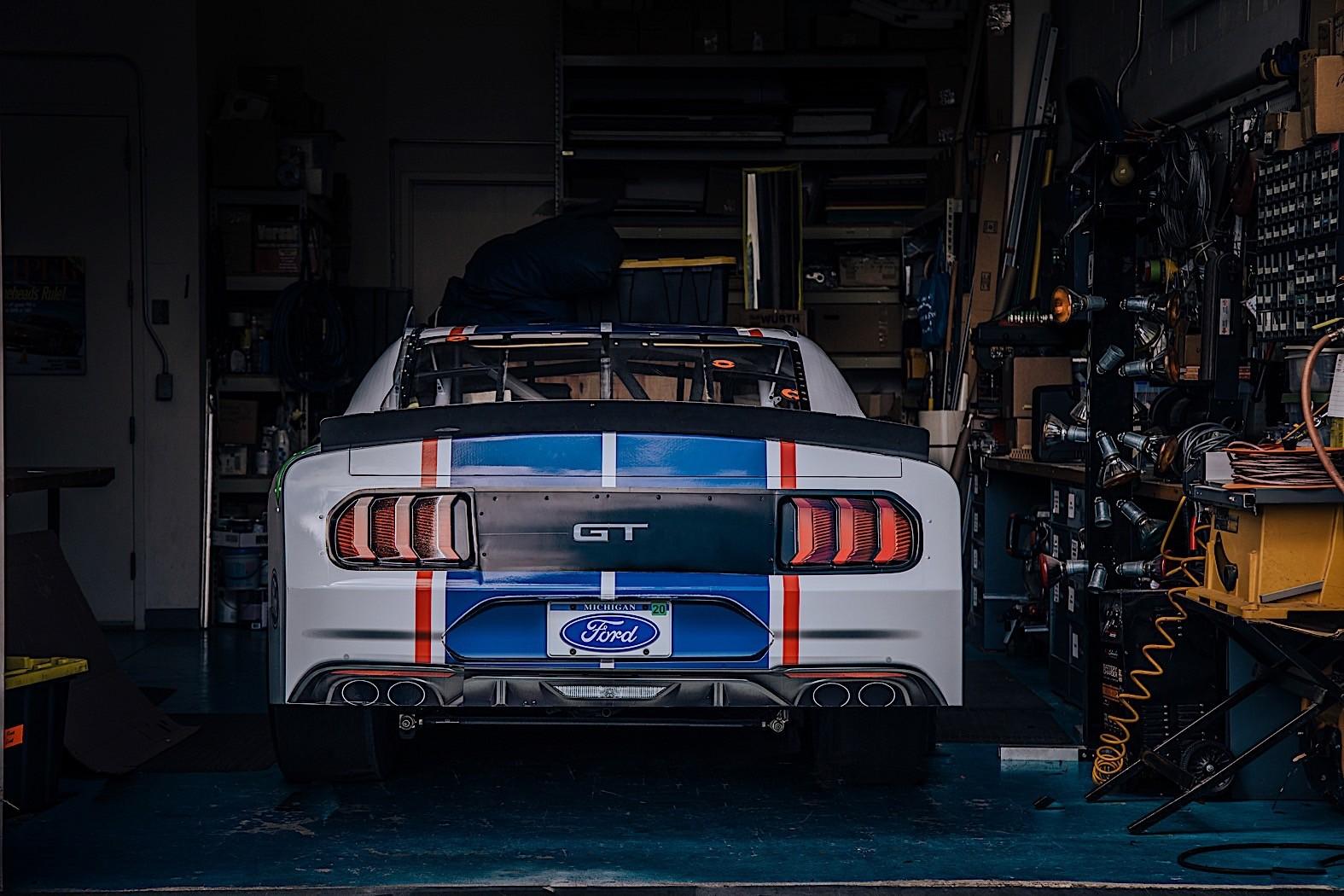 Nascar Next Gen Mustang