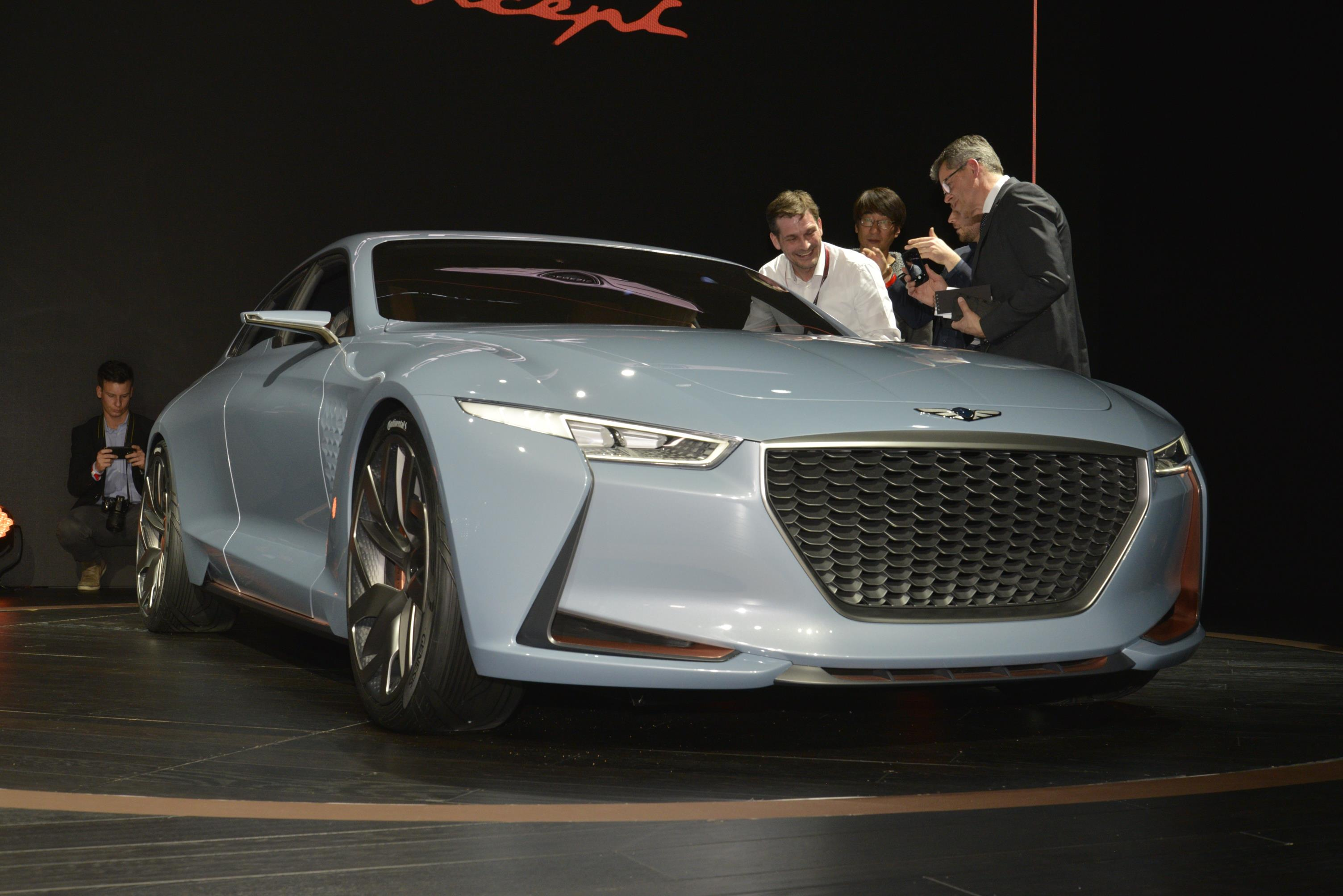 Genesis New York Concept Preview For The 2018 G70