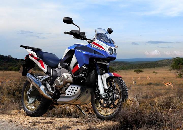 new honda africa twin rumored to be a rival for the bmw r1200gs