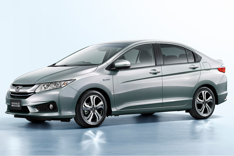 new honda grace hybrid sedan launched in japan likely based on city