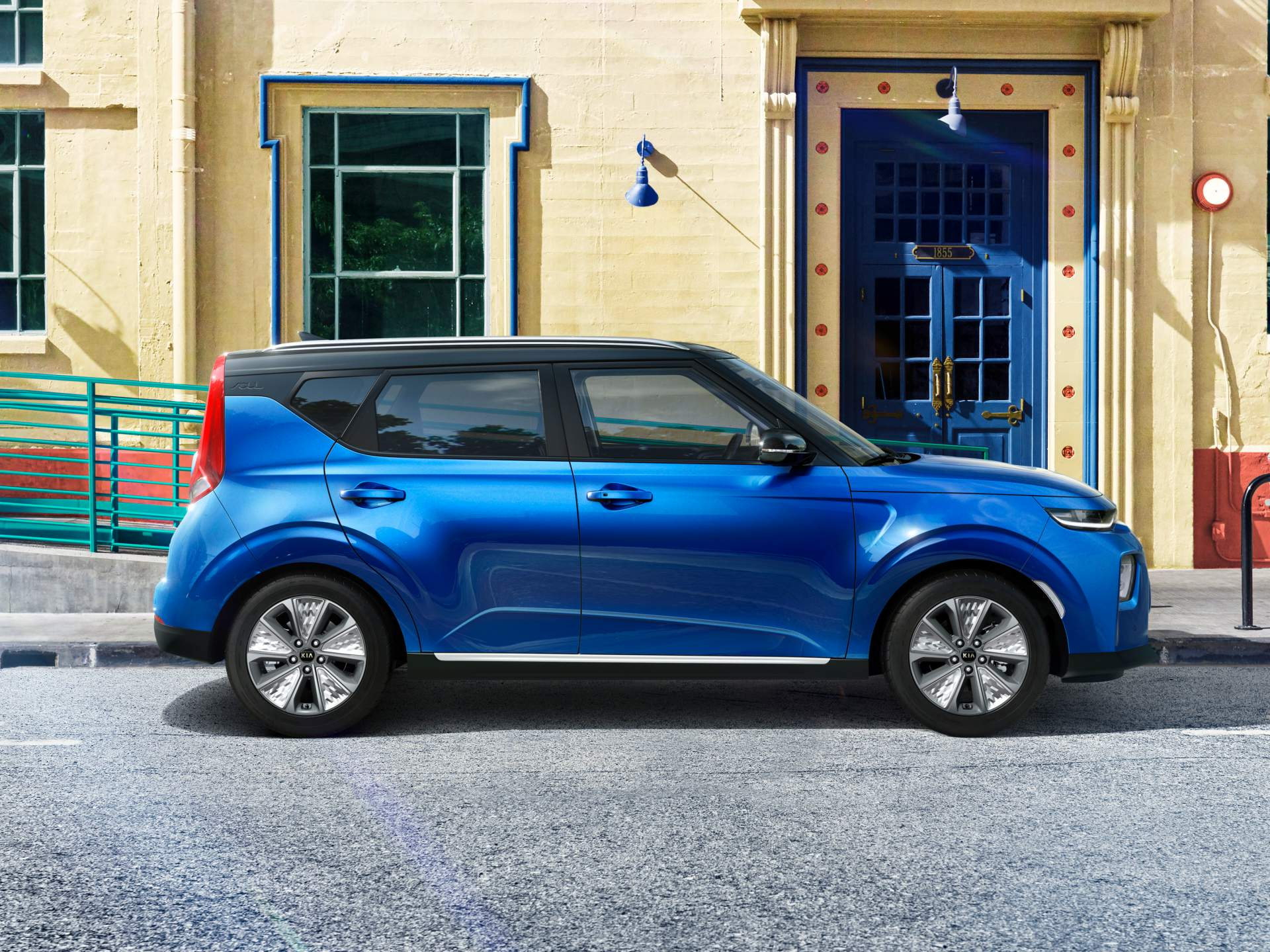 new kia soul ev confirmed for 2019 european debut autoevolution. Black Bedroom Furniture Sets. Home Design Ideas