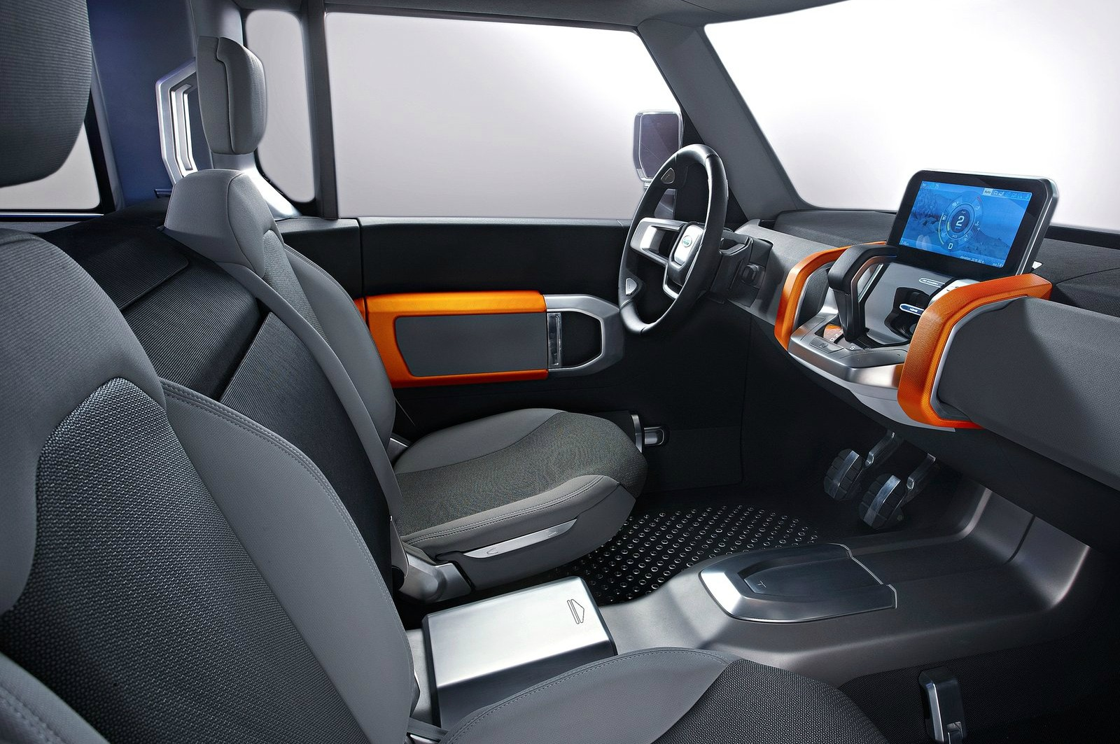 New land rover defender edges nearer to 2016 debut as for Interieur defender 90