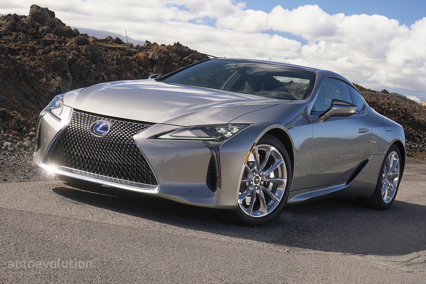 Lexus LC 500 Drift Car Rendering Follows The Story Of The