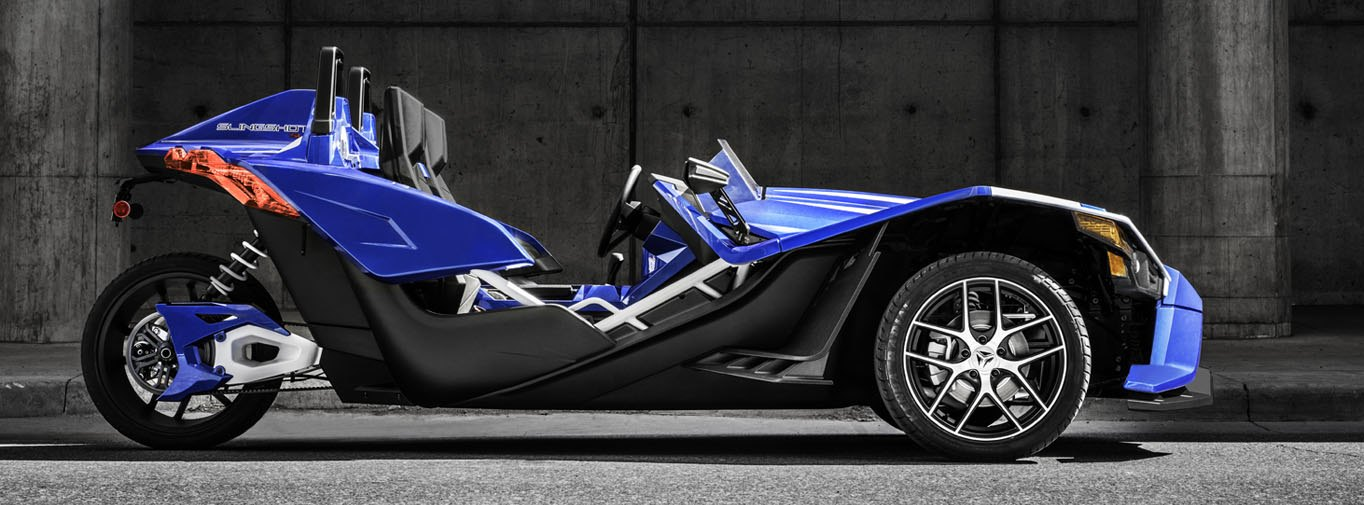 New Limited Edition Polaris Slingshot Shows Off Blue Fire