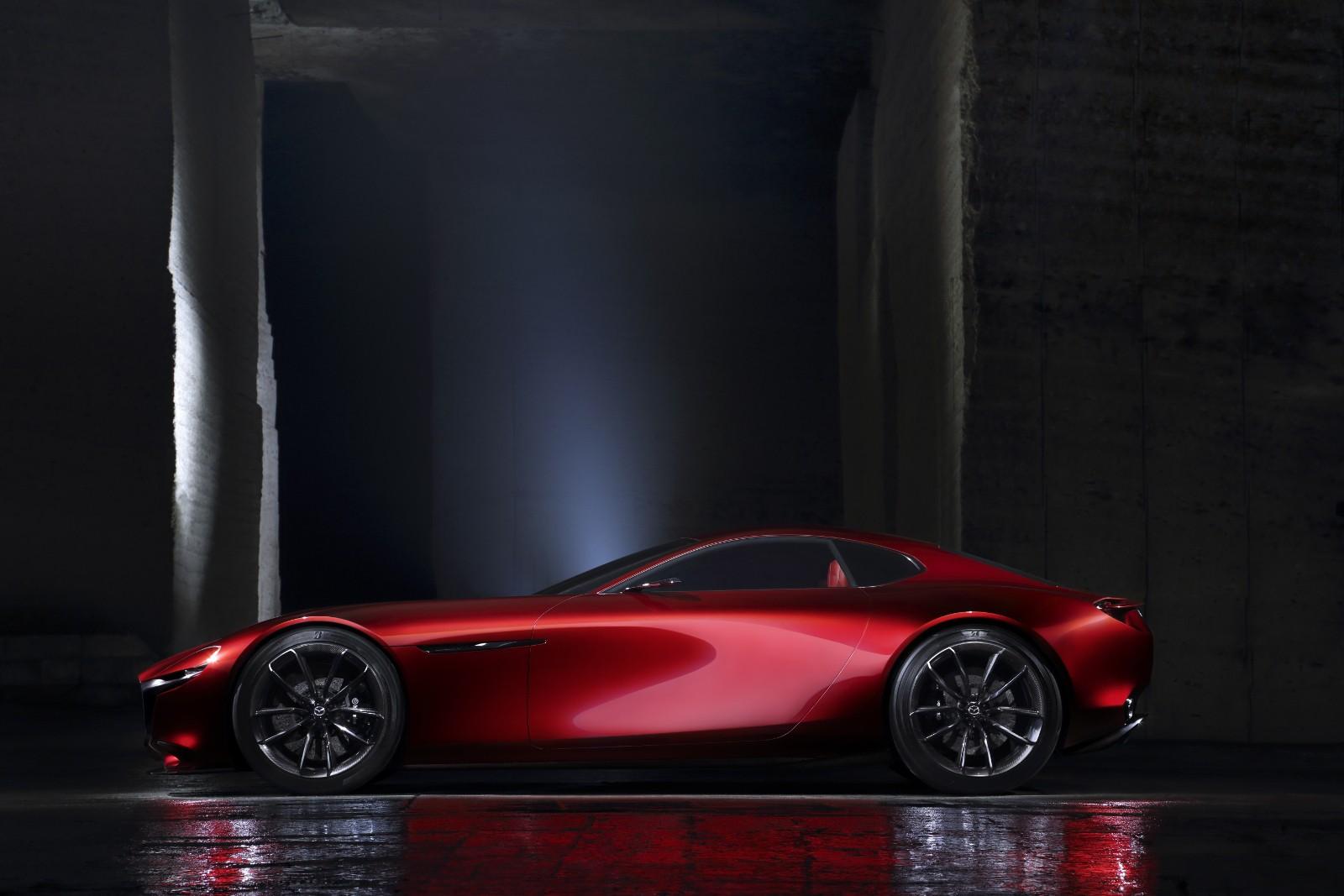 ... Mazda RX Vision Concept (2015) ...