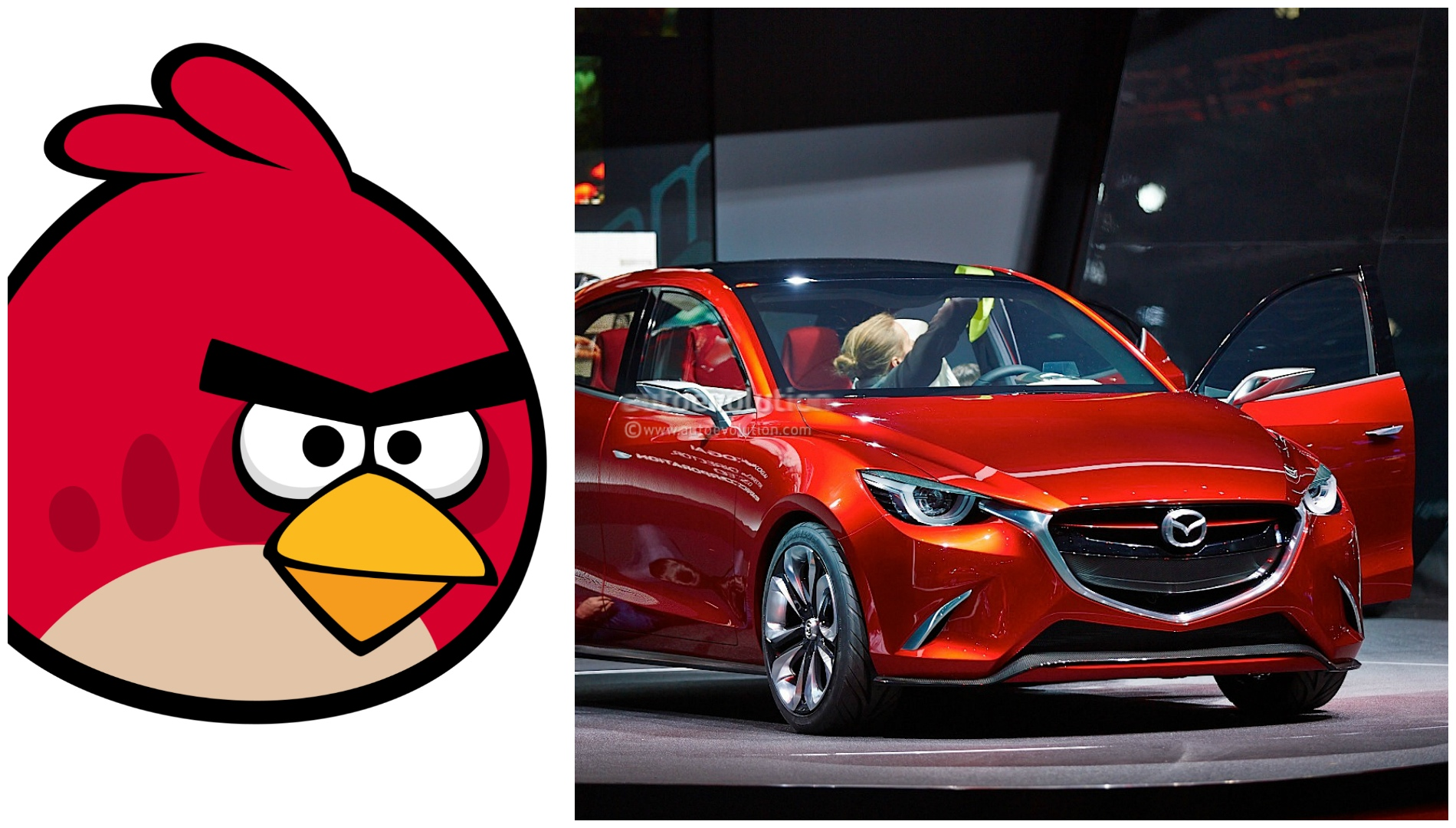 New Mazda2 To Feature Angry Birds Design Language