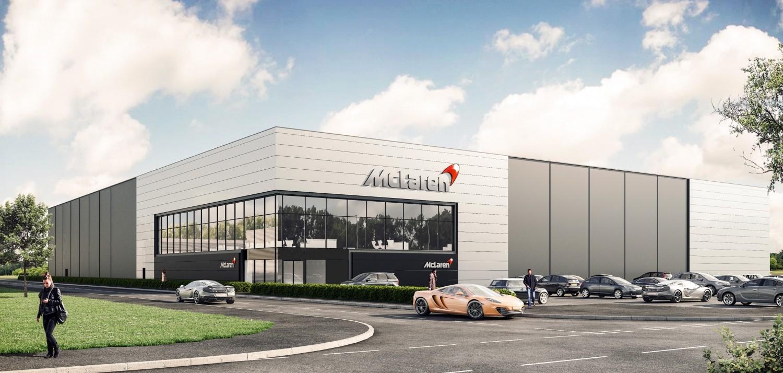 Mclaren Builds Composite Center In Uk To Make Monocoques In Homeland Autoevolution