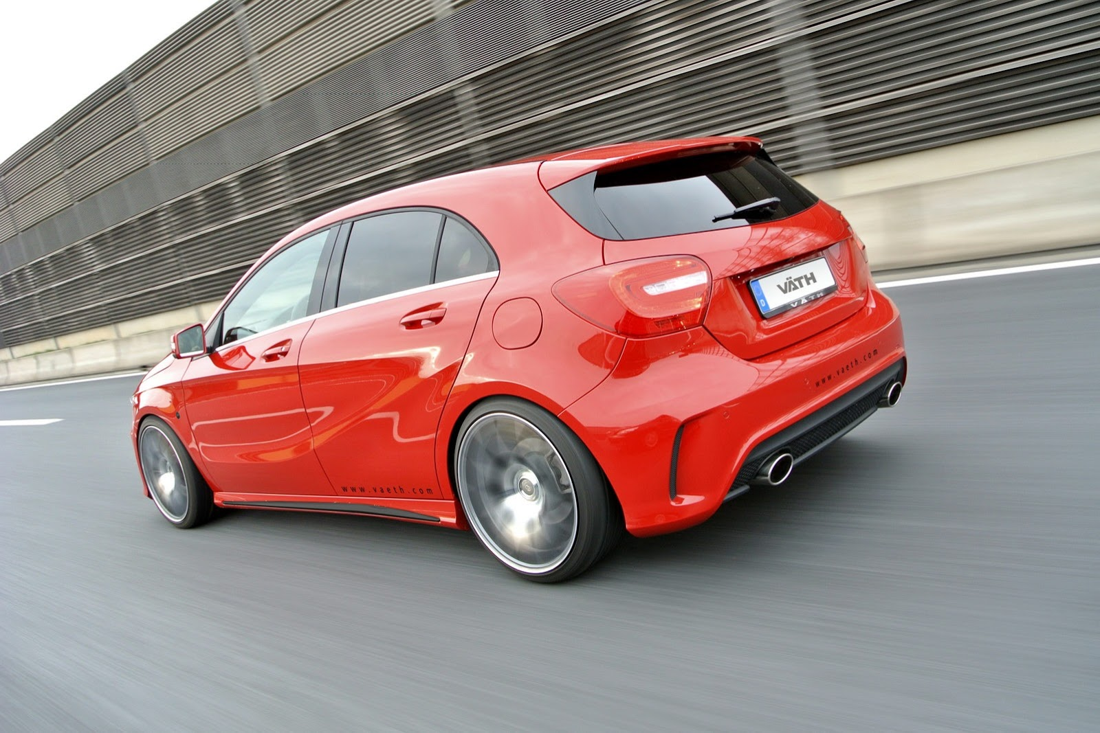 new mercedes a class tuning by vath a250 gets 245 hp autoevolution. Black Bedroom Furniture Sets. Home Design Ideas