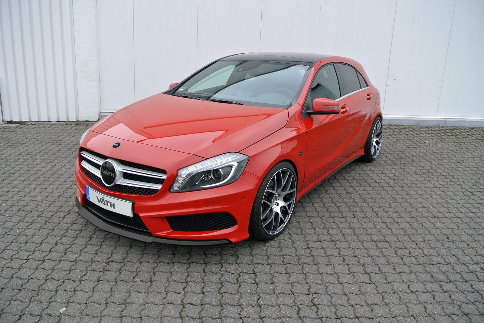 New mercedes a class tuning by vath a250 gets 245 hp for Mercedes benz tuner