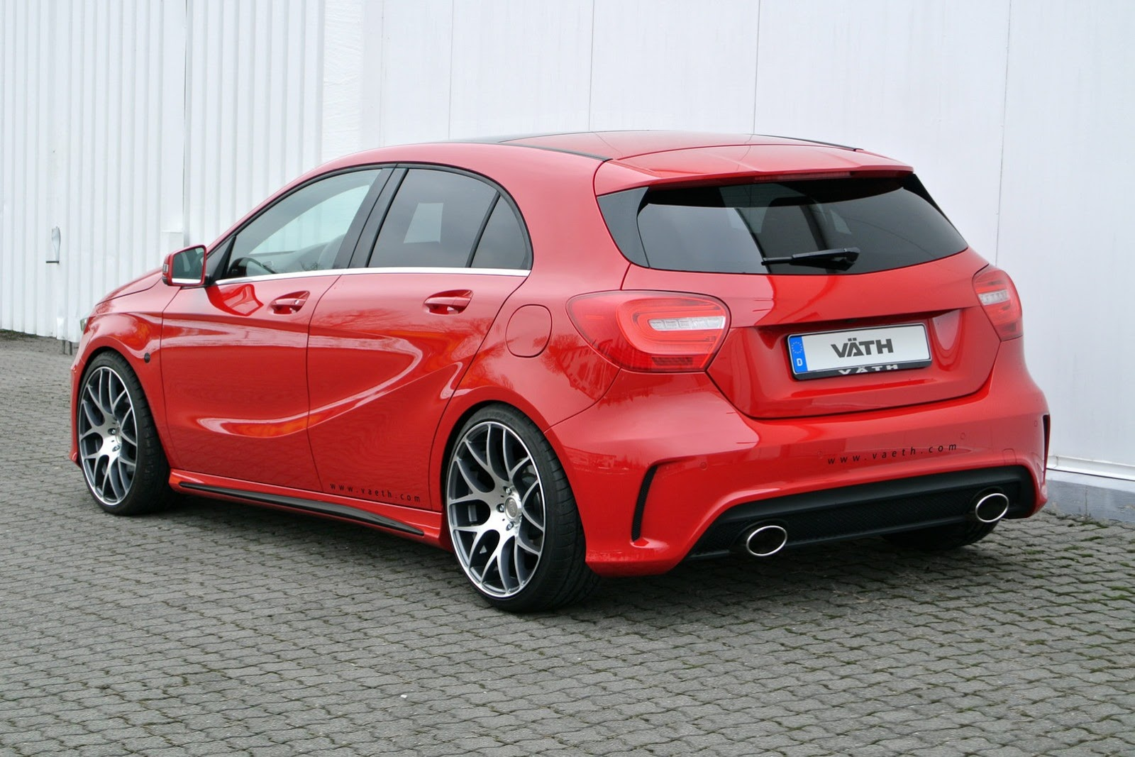 new mercedes a class tuning by vath a250 gets 245 hp. Black Bedroom Furniture Sets. Home Design Ideas