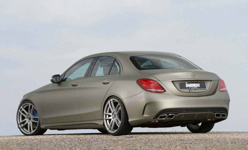 New mercedes benz c class sedan w205 tuned by inden for Mercedes benz design your own
