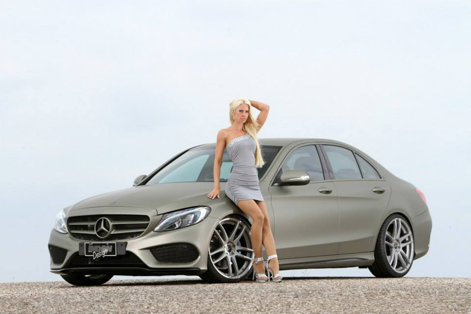 new mercedes benz c class sedan w205 tuned by inden. Black Bedroom Furniture Sets. Home Design Ideas
