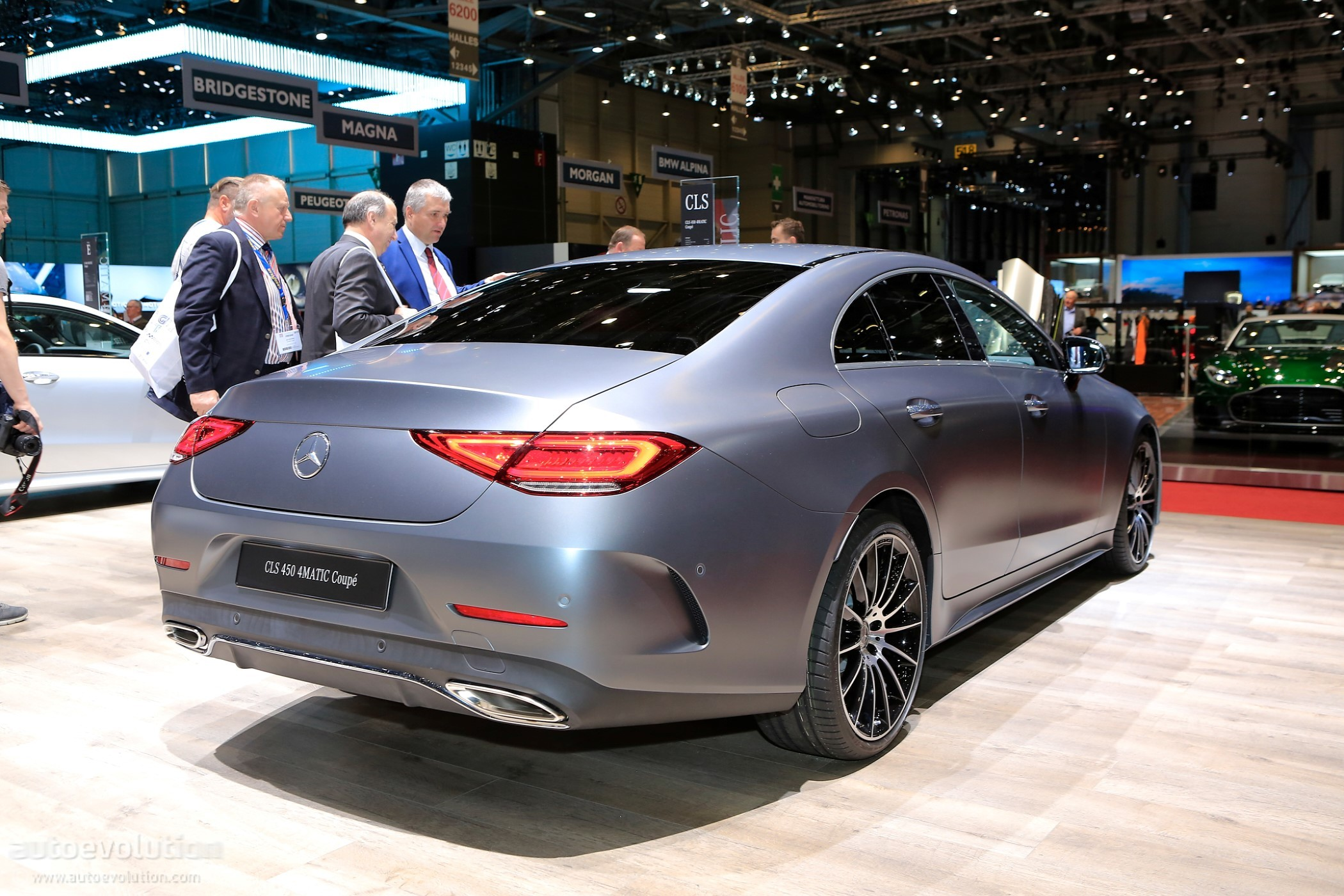 2018 Mercedes Benz Cls 450 4matic Looks Desirable In