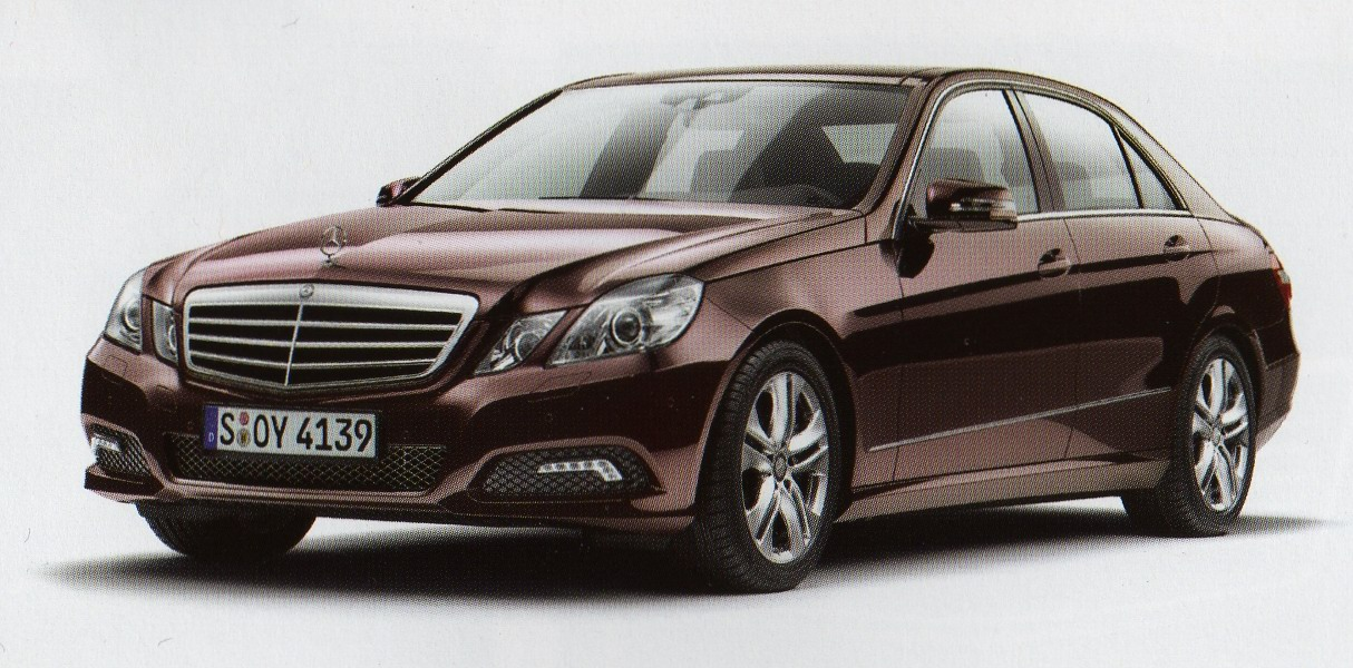 New mercedes benz e klasse w212 german brochure leak for Official mercedes benz parts