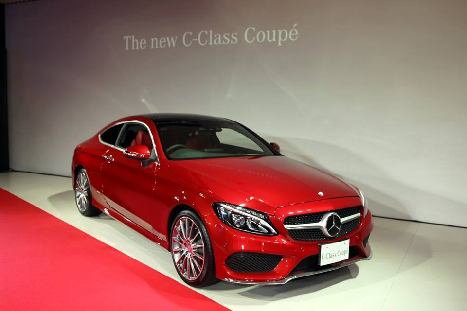 2016 mercedes c class coupe c205 and cabriolet a205 for Mercedes benz coupe models