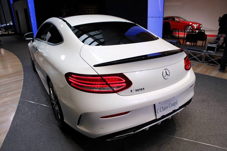 2016 mercedes c class coupe c205 and cabriolet a205 show new details in spy videos - Mercedes c class coupe body kit ...