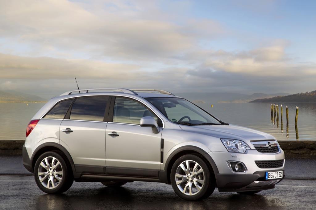 New Opel Antara Facelift Photos Released Ahead of Geneva