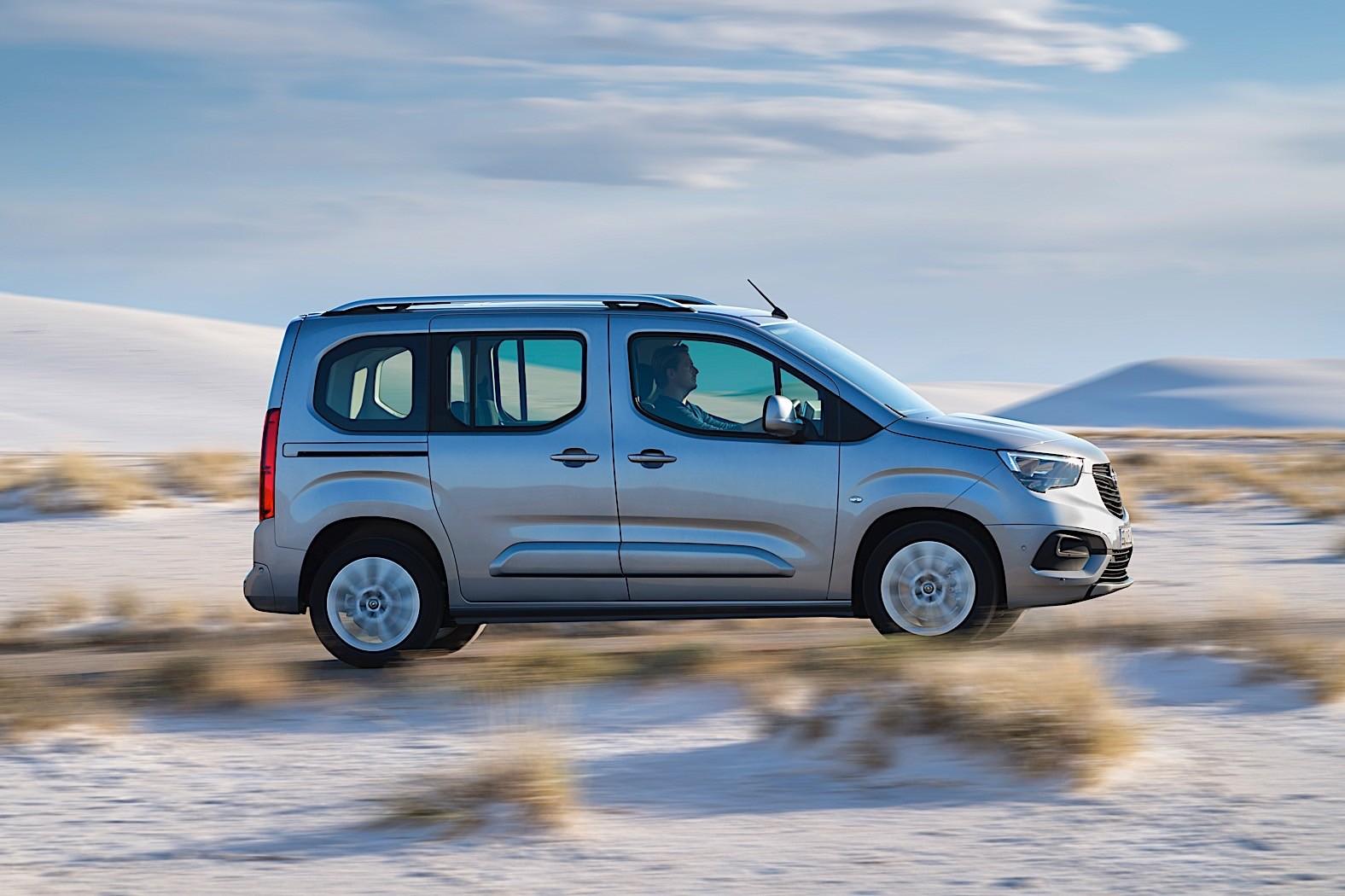 Opel Astra Sedan 2018 >> New Opel Combo Life Can Still Not Hold a Giraffe - autoevolution