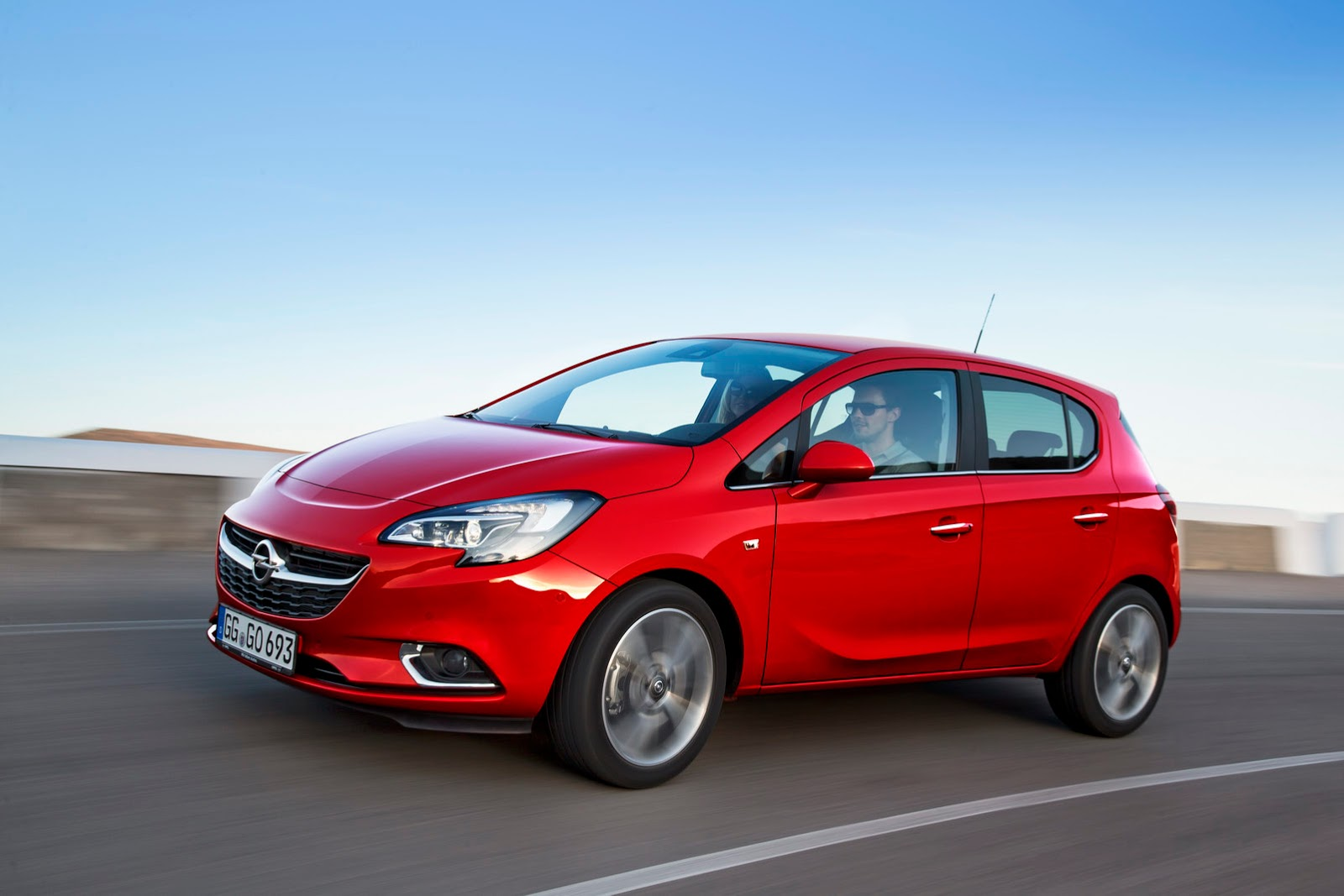 new opel vauxhall corsa revealed with adam inspired design autoevolution. Black Bedroom Furniture Sets. Home Design Ideas