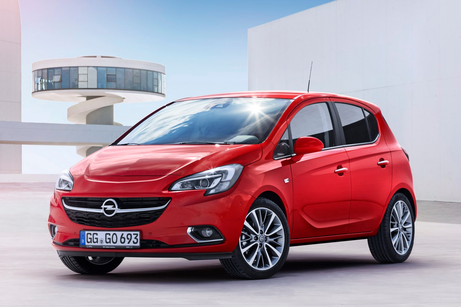 new opel vauxhall corsa revealed with adam inspired. Black Bedroom Furniture Sets. Home Design Ideas