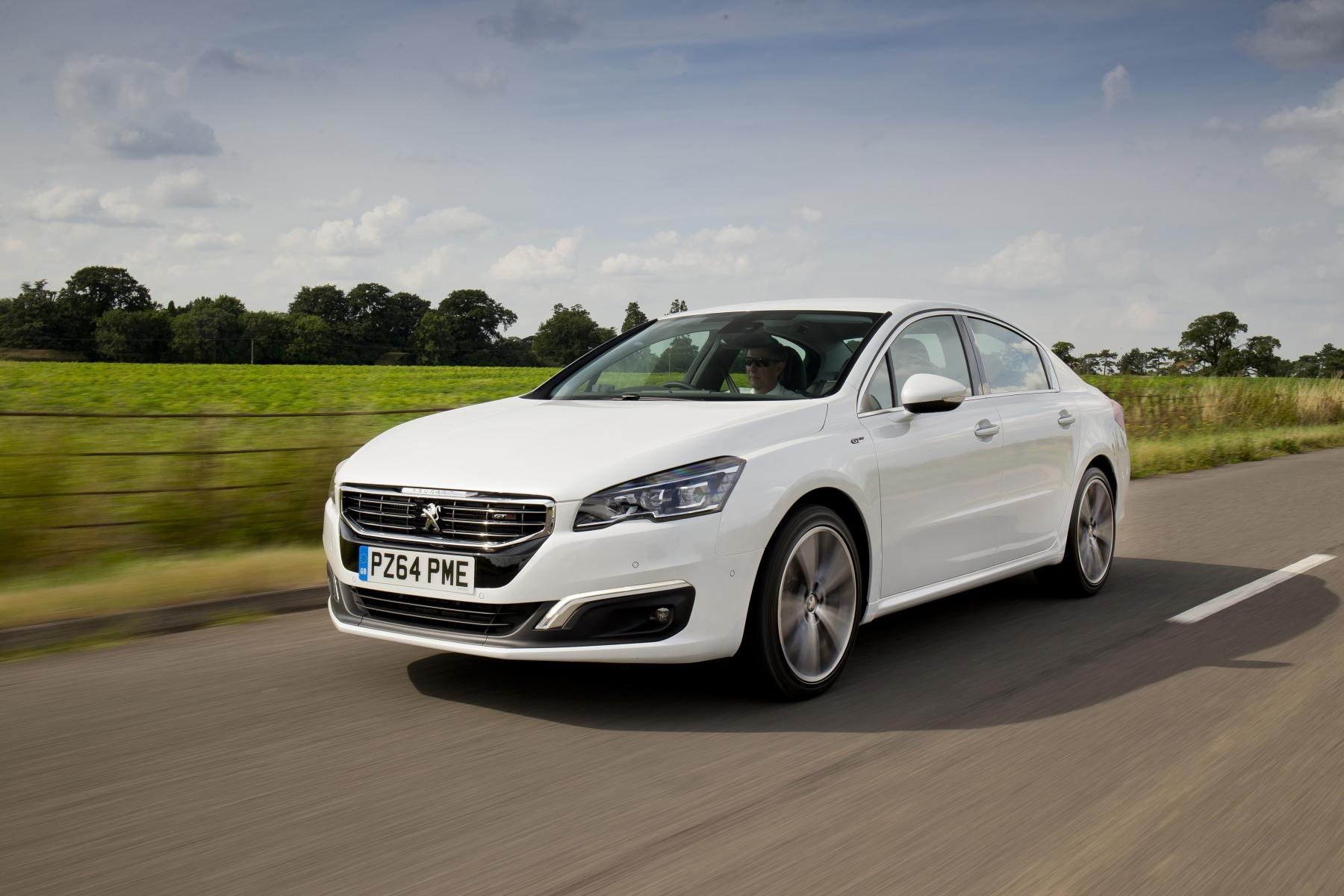 new peugeot 508 priced from 22 054 in the uk video. Black Bedroom Furniture Sets. Home Design Ideas
