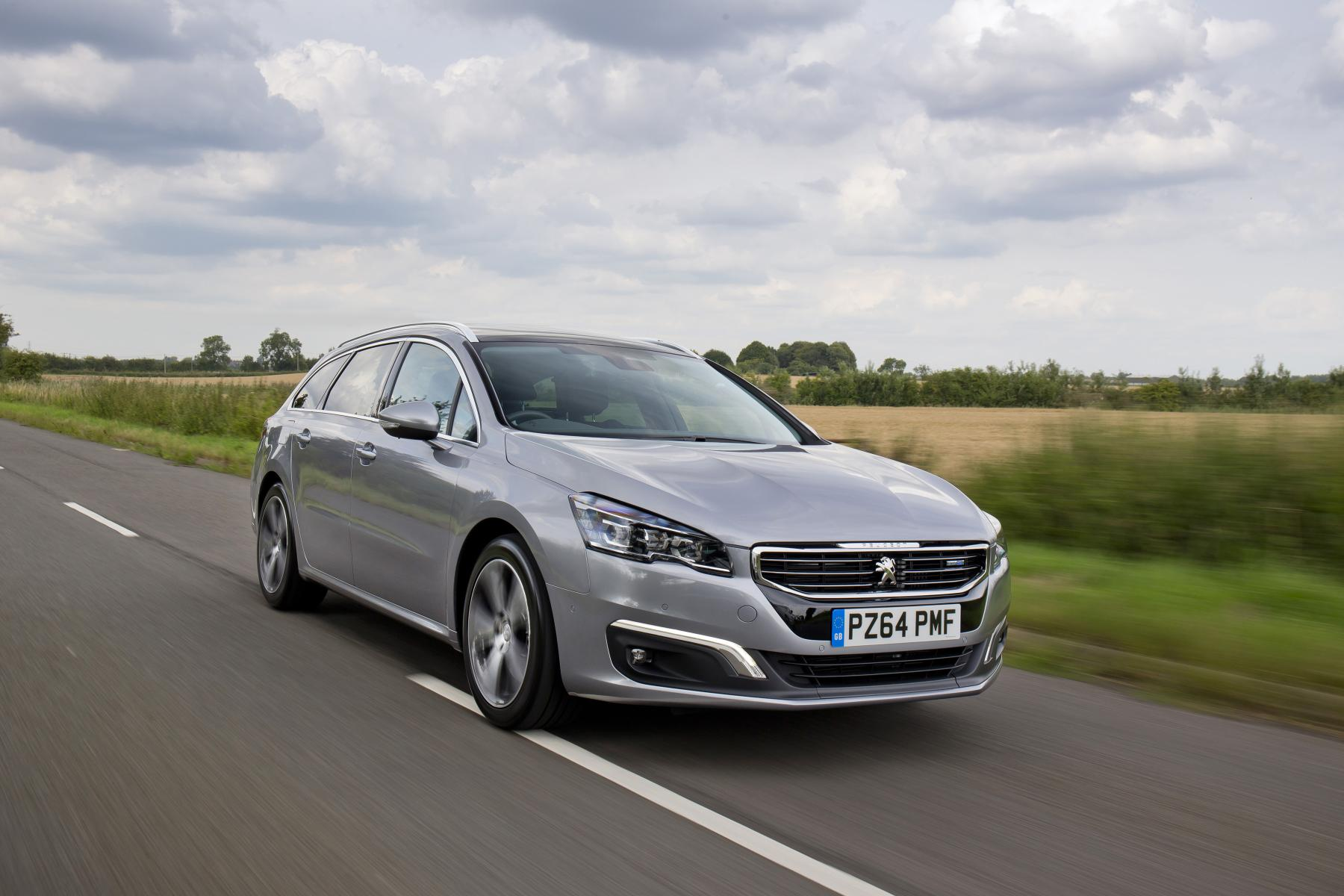 new peugeot 508 priced from 22 054 in the uk video autoevolution. Black Bedroom Furniture Sets. Home Design Ideas