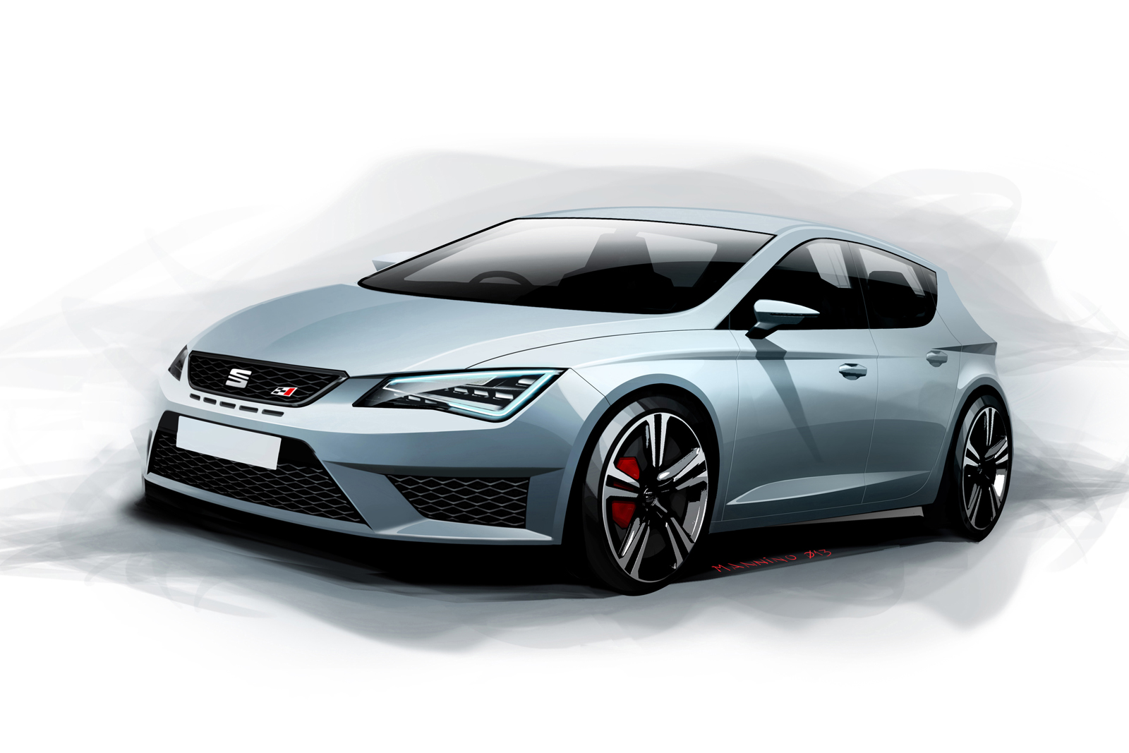 new photos and videos show 280 hp seat leon cupra in detail autoevolution. Black Bedroom Furniture Sets. Home Design Ideas