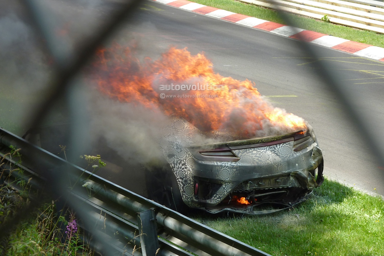 New Photos Shed Light on 2015 Acura NSX Prototype Fire at ...