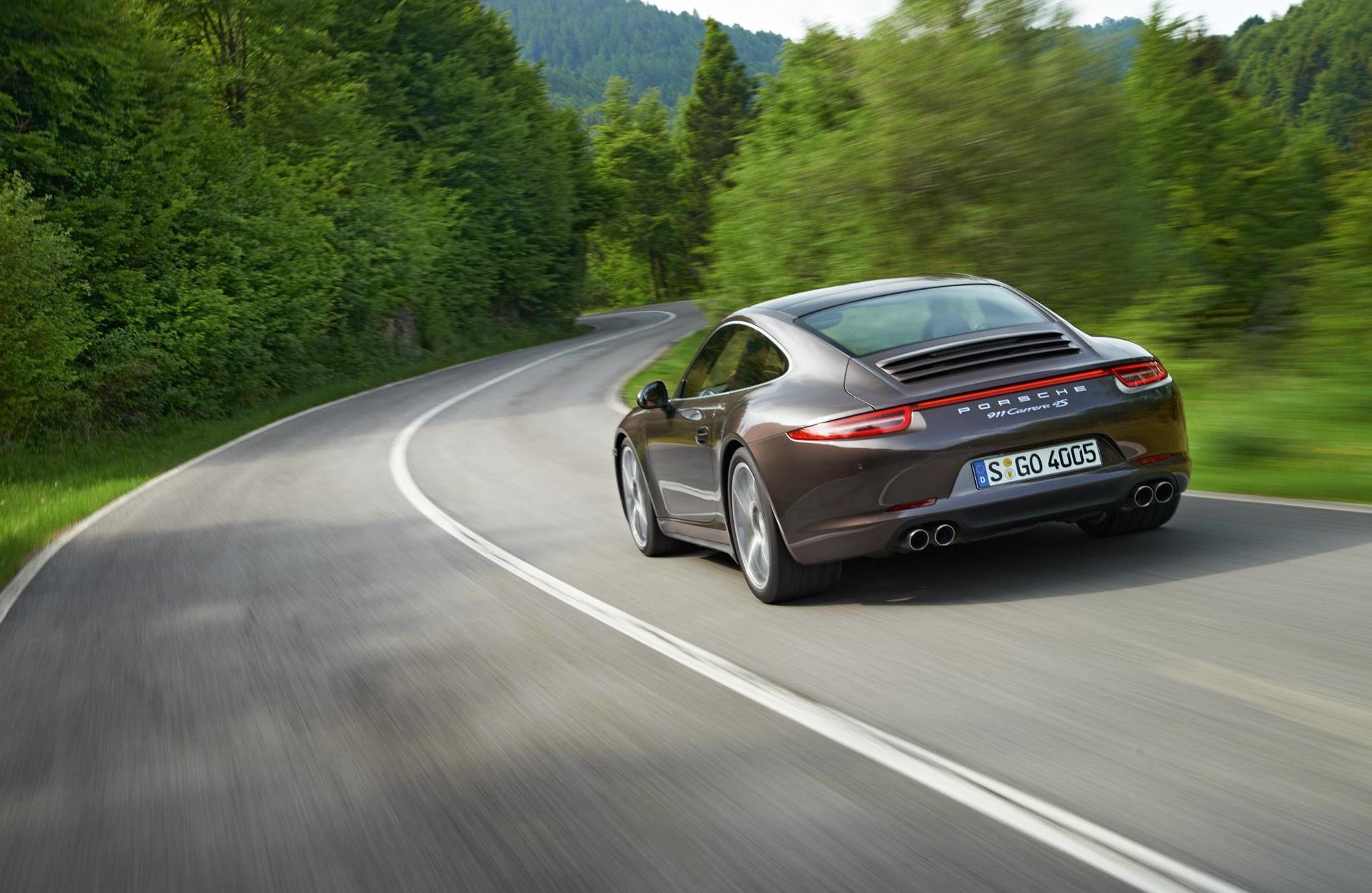 New Porsche 911 Carrera 4, Carrera 4S AWD Models Introduced ...