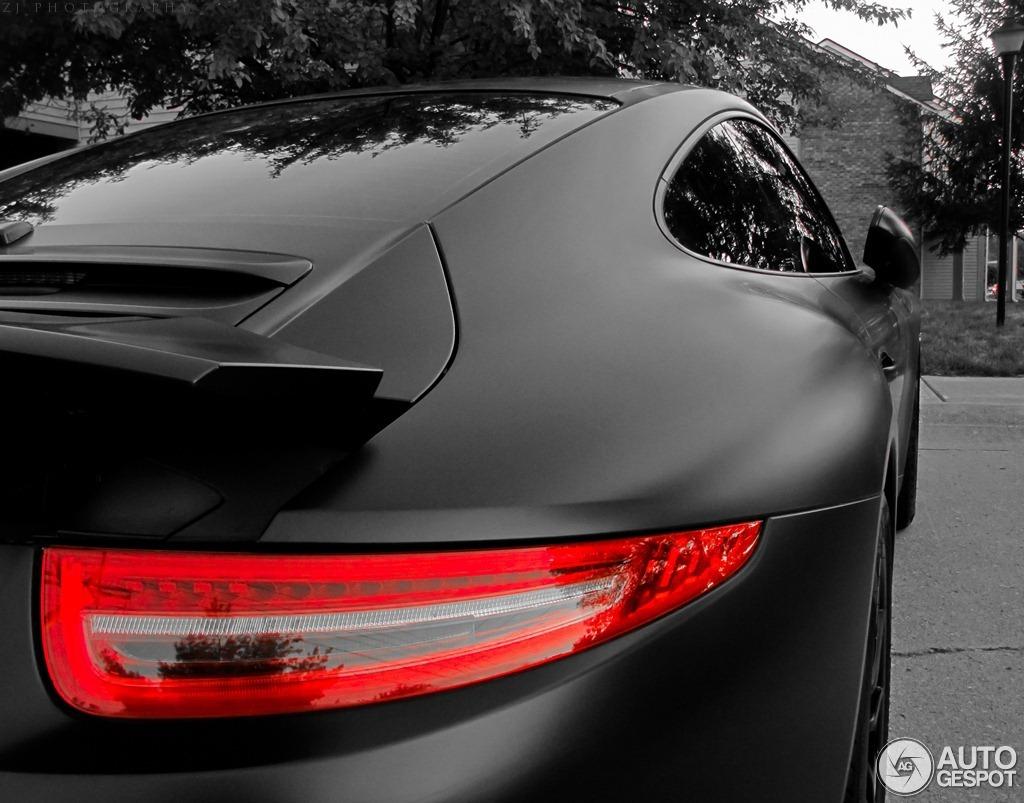 Porsche Carrera S >> New Porsche 911 Carrera S Shows Off Its Curves in Matte ...