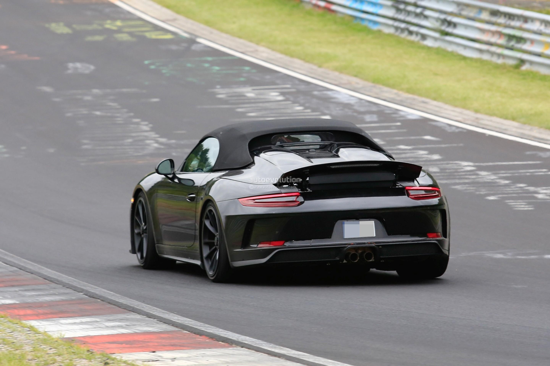 Dark Sea Blue 2019 Porsche 911 Speedster Rendered Looks