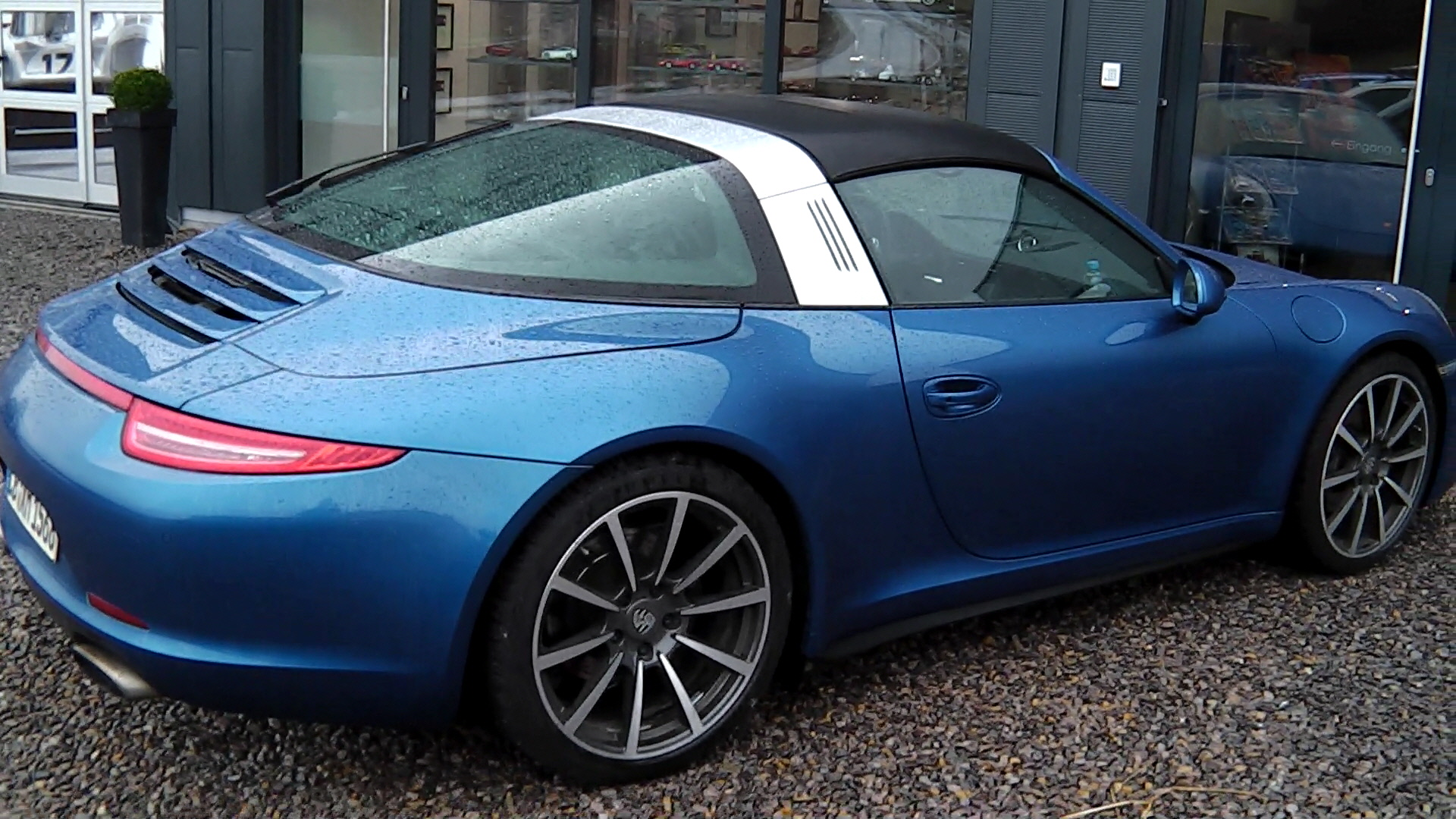 New Porsche 911 Targa Spotted On The Road Video