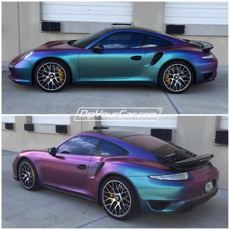 Changing Car Paint