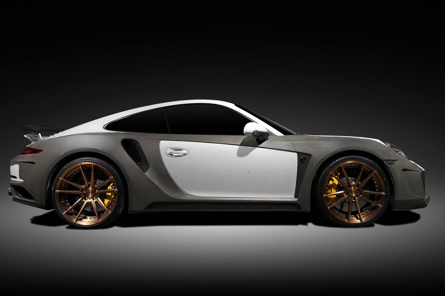 Cheap Auto Tires >> New Porsche 911 Turbo Singer GTR Tuning Project Announced by TopCar - autoevolution