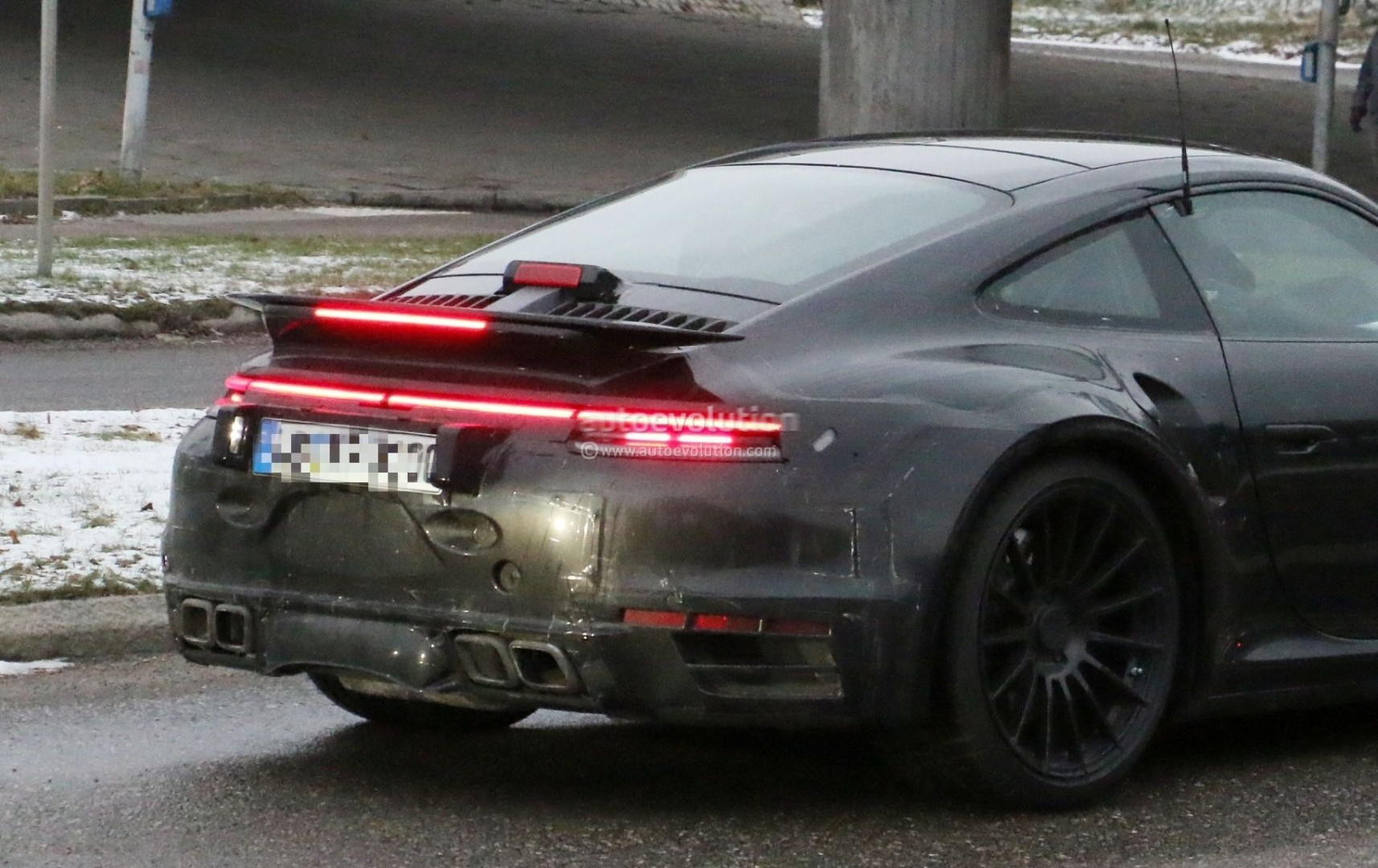 Spyshots 2020 Porsche 911 Turbo Spied In Production Trim