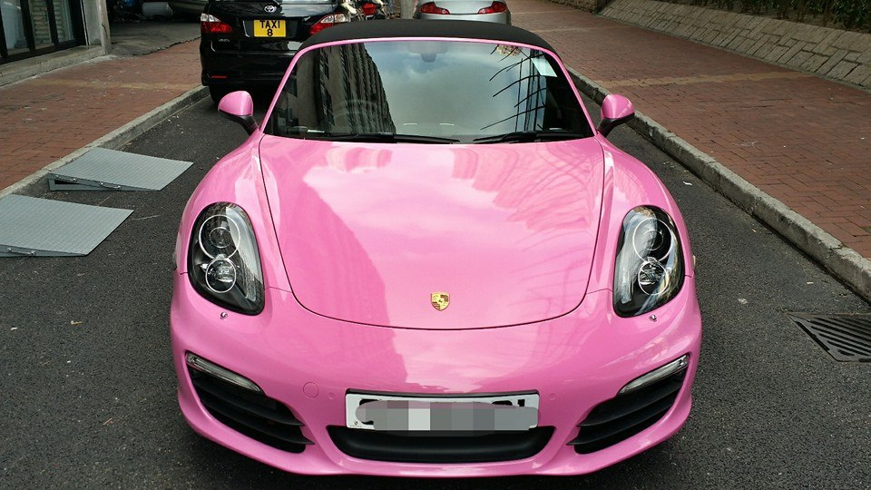 Where Is Honda Made >> New Porsche Boxster S Wrapped in Pink for Hong Kong Customer - autoevolution