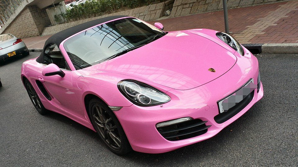 New Porsche Boxster S Wrapped In Pink For Hong Kong Customer Autoevolution