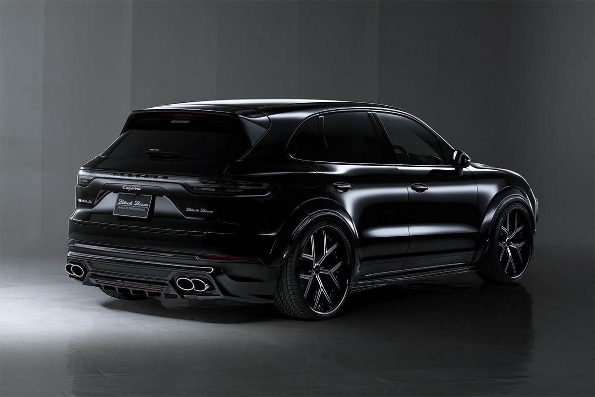 New Porsche Cayenne Gets Wald Black Bison Kit Autoevolution